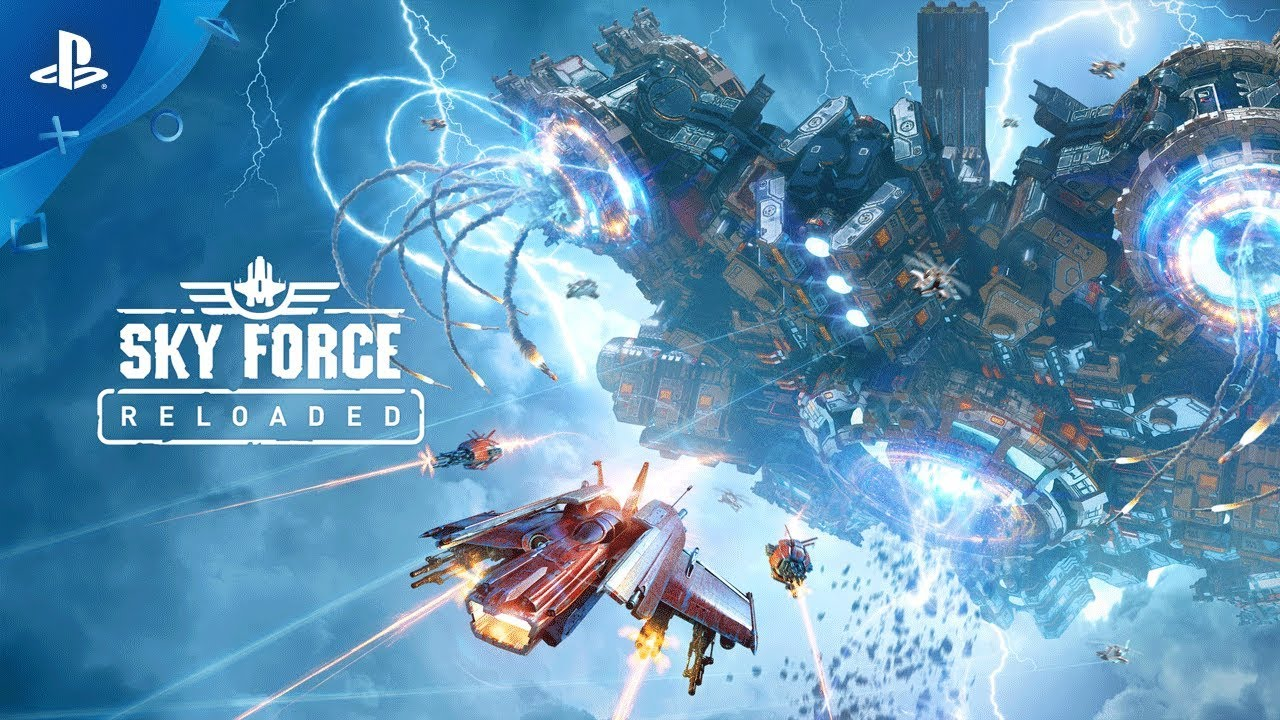 Sky Force Reloaded - Reveal Trailer | PS4 - YouTube