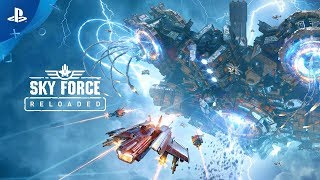 Sky Force Reloaded - Reveal Trailer | PS4