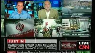 CNN Jewish Arabs, Bash Iran for Claims Neda was shot in CIA False Flag Operation