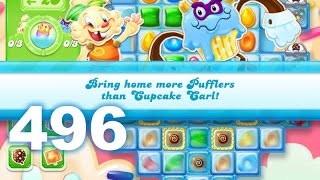 Candy Crush Jelly Saga Level 496 (No boosters)