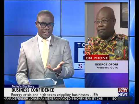 Business Confidence - Today's Big Story on Joy News (19-5-15)