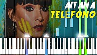 Aitana - TELÉFONO   Piano Tutorial Cover