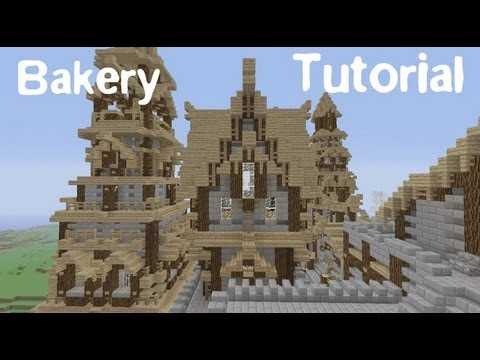 minecraft how to build a medieval restaurant