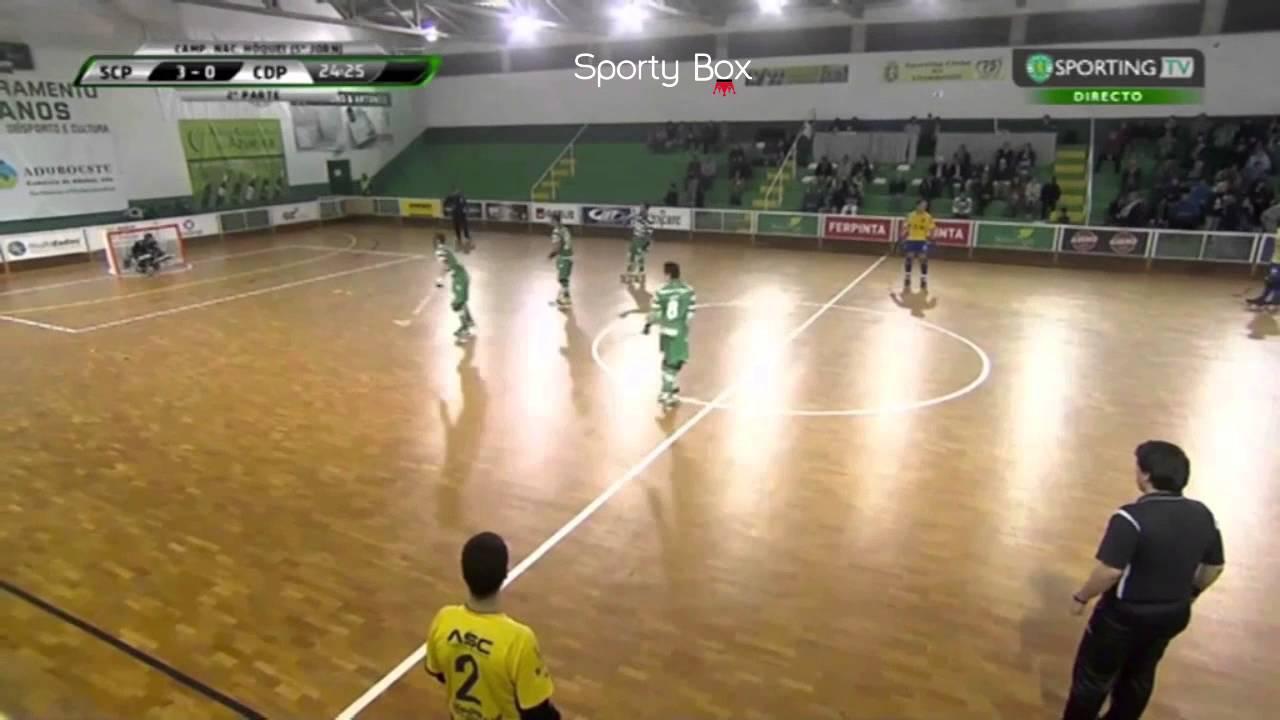 Hoquei Patins :: 05J :: Sporting - 6 x CD Póvoa - 0 de 2014/2015