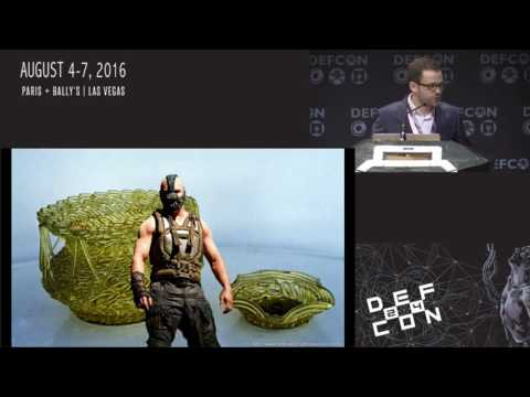 DEF CON 24 - Evan Booth  - Jittery MacGyver: Building a Bionic Hand out of a Coffee