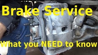 Brake Service - What you need to know - Automotive Education