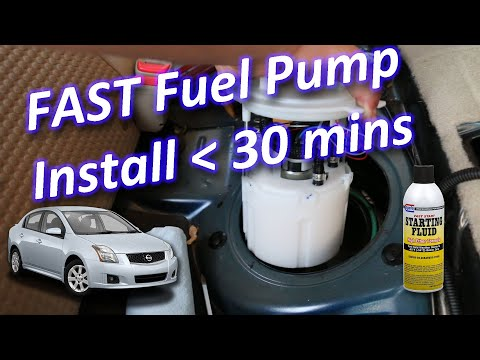 Nissan Sentra Fuel Pump Diagnosis and Repair DIY