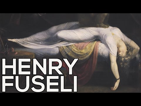 Henry Fuseli: A collection of 103 paintings (HD)