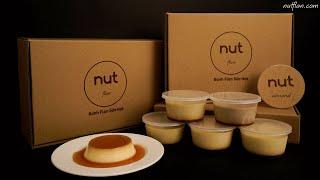 Bánh Flan Sữa Hạt Nut Flan