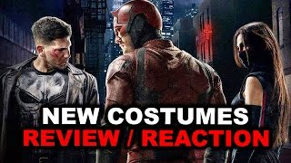Daredevil Season 2 NEW COSTUMES Review aka Reaction - Beyond The Trailer