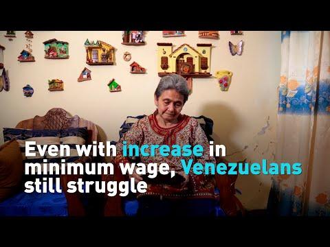 Even with increase in minimum wage, Venezuelans still struggle