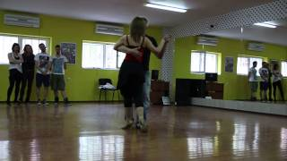 """25 април 2015 г. """"Откриване"""" Ds """"salsa De Cuba"""" Plovdiv- Танго с  Мата и Венци"""