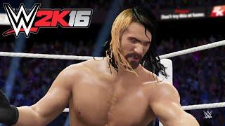 WWE-2K16- Triple H vs Seth Rollins SmackDown 2016- One on One Match WWE 2K16 (PS4)