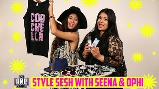 Oufit & Makeup Ideas for Coachella: Style Sesh with Seena & Ophi Episode 2