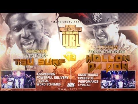 Smack / URL Presents: Hollow Da Don Vs Tsu Surf (Rap Battle)