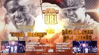 SMACK/URL PRESENTS : Hollow Da Don Vs Tsu Surf
