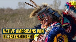 Download Video Native Americans win, feds flee feather fight MP3 3GP MP4