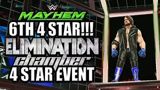 WWE Mayhem - 6th 4 Star!!! Mayhem Viewer Shoutouts, Elimination Chamber 4 Star Event