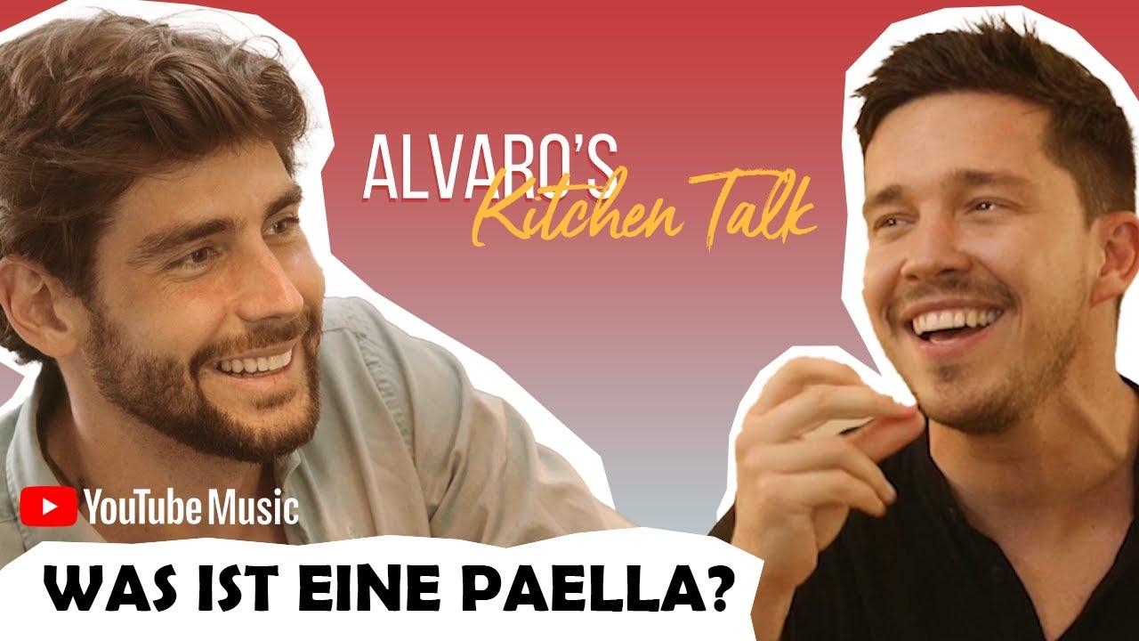 Alvaro has launched his new cooking show, Alvaro's Kitchen Talk