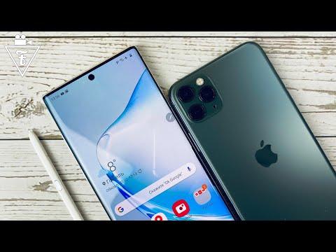 Полное сравнение Galaxy Note 10+ и iPhone 11 Pro Max ч.2