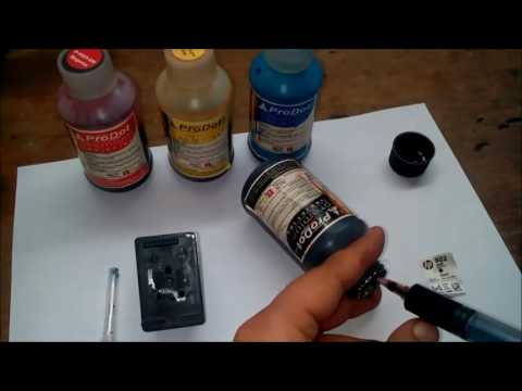 How to Refill Inkjet Black Cartridge with Home made Suction Tool