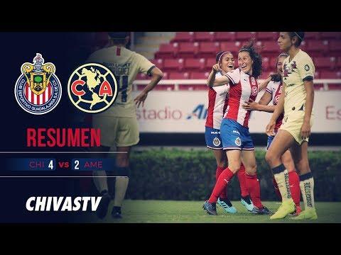 Clásico Rojiblanco | Resumen | Chivas Femenil 4-2 América | Todos los goles | J10 LigaMX Femenil