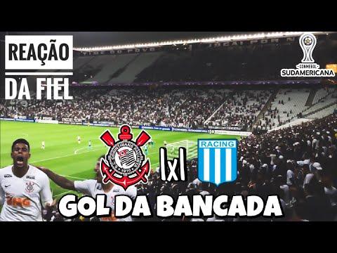 O GOL DA LENDA E A REAÇÃO DA FIEL • CORINTHIANS 1x1 RACING • GOLS DA BANCADA