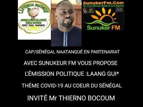 Covid-19 au coeur du Sénegal Thierno BOCOUM tacle le régime de Macky Sall