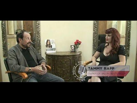 Ron Stark with Tammy Rapp - Owner of Salon Gente Bella