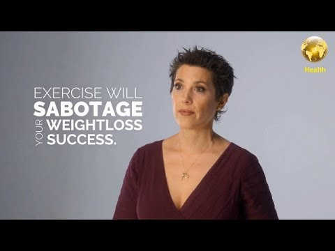 Dr.  S. Thompson, explains why exercise will sabotage your weight loss goals _ 03/11/2018 (1eua)