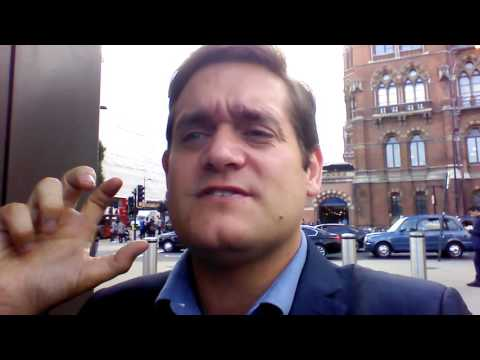 Vlog Day 50 - media meetings day in London