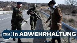 FLÜCHTLINGSKRISE: Bittere Enttäuschung und Verzweiflung an Griechenlands Grenze