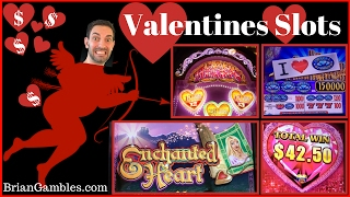 Valentines Slots ✦ LIVE PLAY Lock it Link, Triple Diamonds and More! ✦ Live Play Slots N Pokies