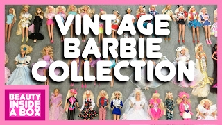 Vintage Barbie Collection - Beauty Inside A Box