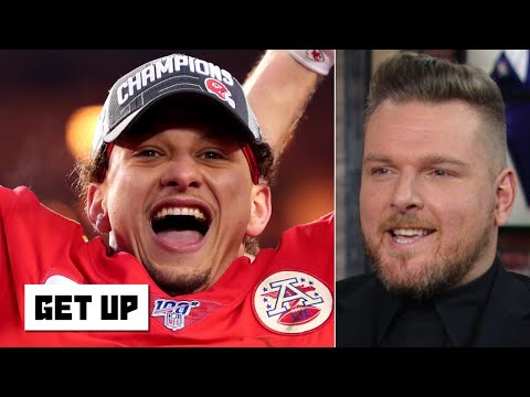 Pat McAfee reacts to Patrick Mahomes taking the Chiefs to the Super Bowl | Get Up
