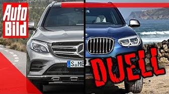 Duell hinter'm Deich: Mercedes GLC vs. BMW X3 (2019): Test - Auto - SUV - Vergleich