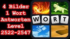 4 Bilder 1 Wort - Level 2522-2547 - Löse 7 Rätsel aus dem Bereich Essen & Trinken - Lösungen Antw