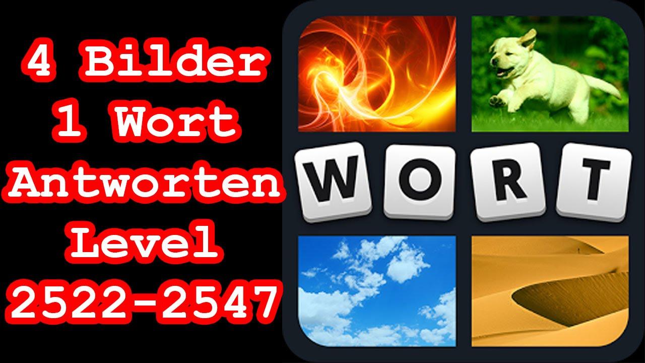 4 Bilder 1 Wort - Level 2522-2547 - Löse 7 Rätsel aus dem Bereich ...
