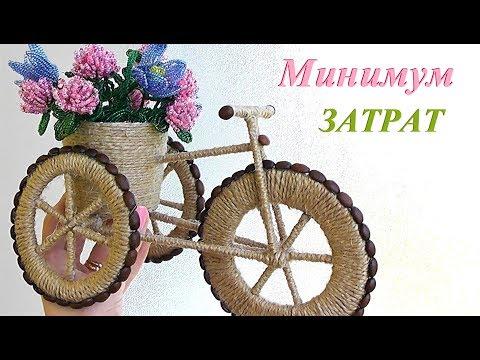 Как сделать велосипед своими руками из картона