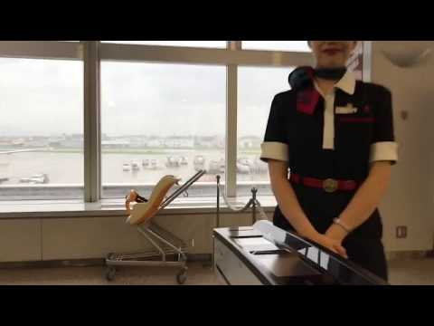 JAL JGC改札音連続