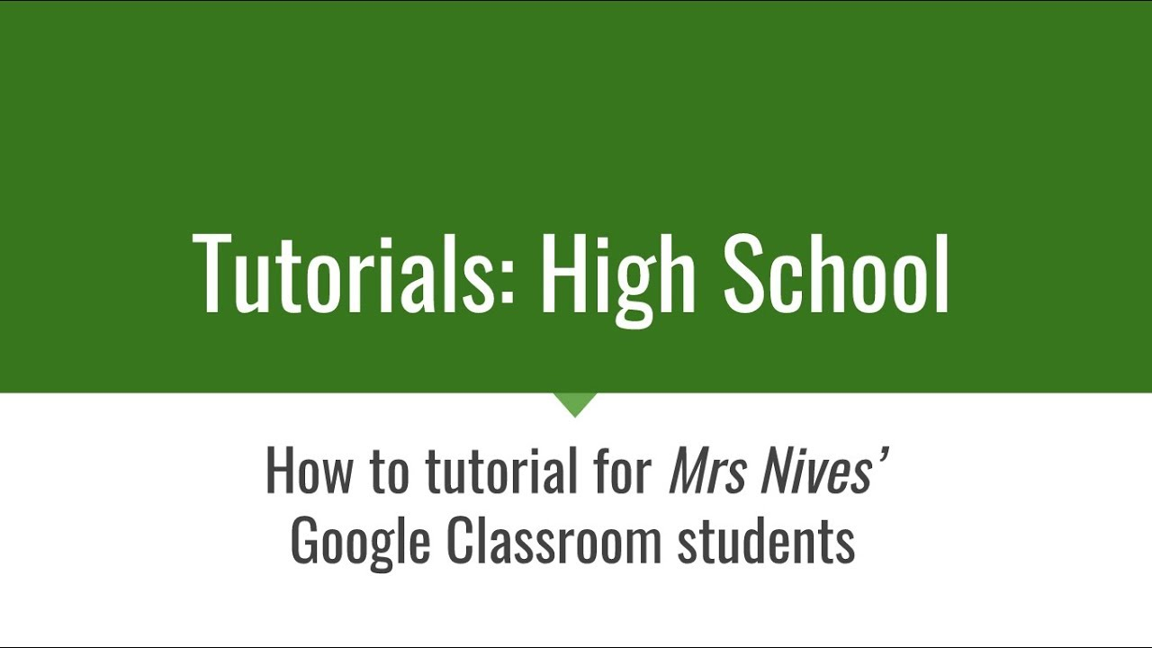 Google Classroom Assignment FILM REVIEW template - YouTube
