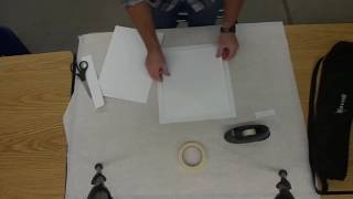 How to Mat a Graphite, Color Pencil, or Ink Drawing