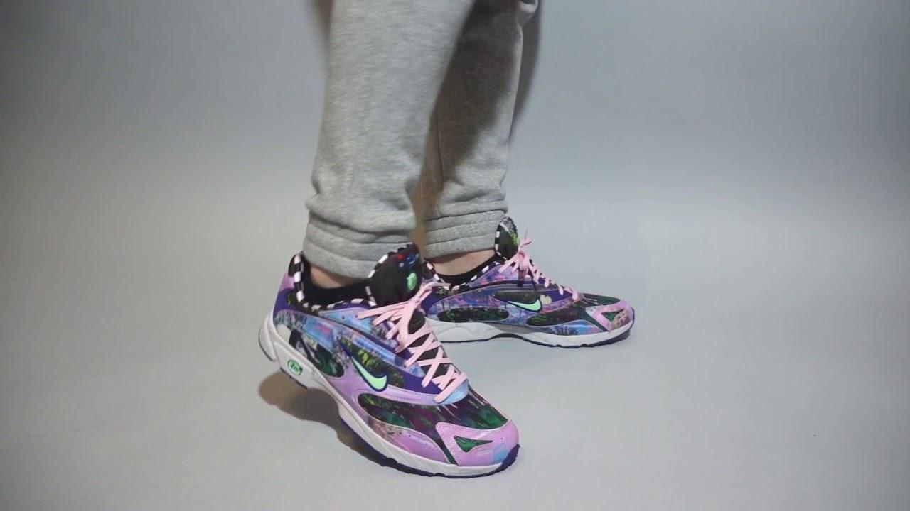 nike zoom streak on feet