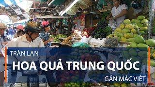 Tràn lan hoa quả Trung Quốc gắn mác Việt | VTC1