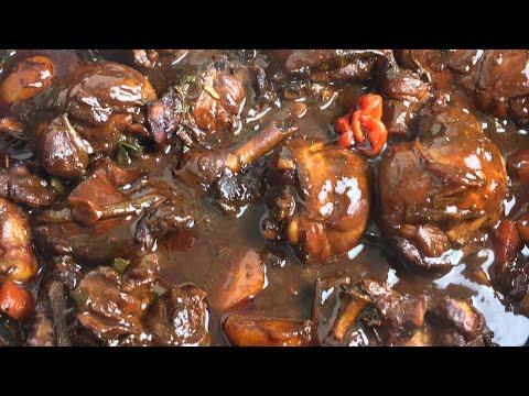 HOW TO MAKE THE BEST JAMAICAN STEW CHICKEN   Caribbean Stew Chicken