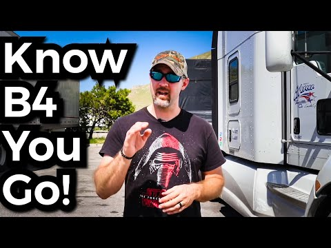 ADVICE for your FIRST YEAR as a NEW TRUCK DRIVER
