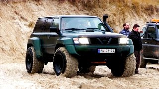 Nissan Patrol GR 4x4 at Løkken Beach Tour 2015