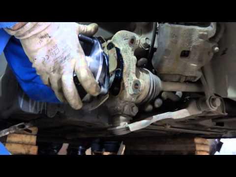 БМВ Е39 замена заднего и переднего ступичных подшипников