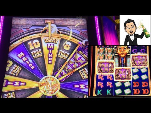 Winning In Laughlin! Buffalo Grand And Dreams Of Egypt Slot Bonuses.