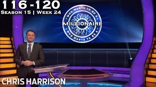 Who Wants To Be A Millionaire? #24 | Season 15 | Episode 116-120